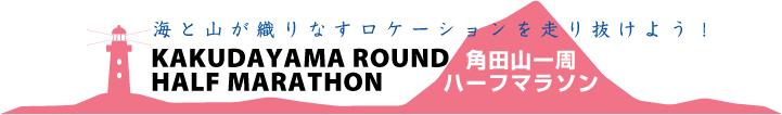 角田山一周ハーフマラソン